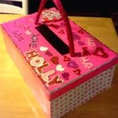 Decorate an old box