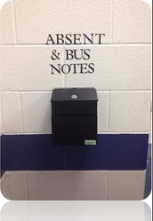 Absent & Bus Notes