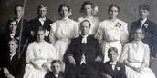 A family of Swedish immigrants