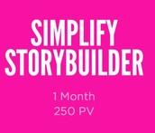 Simplify Storybuilder
