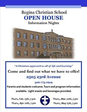 Open House - Tomorrow, Thursday, April 10