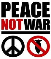 NO WAR just peace