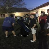 View the Night Sky through a Telescope