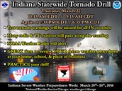 Indiana Severe Weather Preparation Week