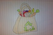 Using a reusable shopping bag can have a big impact on the Planet.
