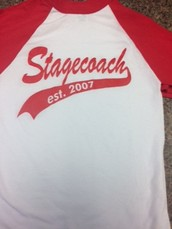 Super SALE!!! $5 Stagecoach Baseball shirts