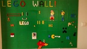 Our Lego Wall is Up and Running!