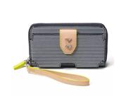 Madison Tech Wallet - Navy Breton Stripe