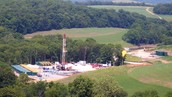 Marcellus shale drilling in Cross Creek Park