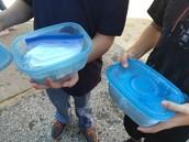 Making ice cream with Mr. Davisson