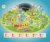 Map Of Adventure World