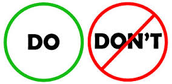 The Do's and Don'ts of the Web