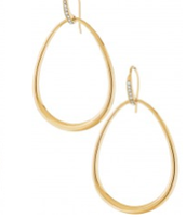 Goddess Teardrop Earrings, $34