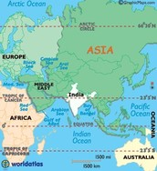 Where is Ancient India located?