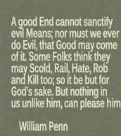 One Of William Penns Sayings.