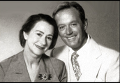 Ayn Rand and her husband Frank O'Connor