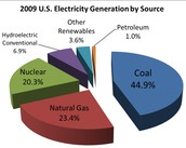 2009 U.S. Electricity Generation by Source