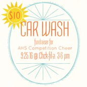 Car Wash this Sunday (9/25)