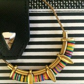 Wanderer Necklace...colorful & easy to wear