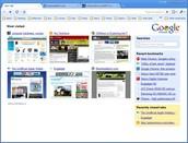 Google Chrome's Tab Bar