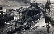 Distruction of Pearl Harbor.