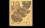 Defense Map of Savannah During the Civil War