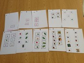 Counting with stamps and stickers