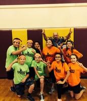 6th Grade Dodgeball Winners