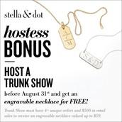 Summer Hostess Rewards