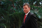 This is president Juan Manual Santos