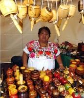 Artesanías mexicanas.