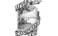 Logo cyntaf Apple.