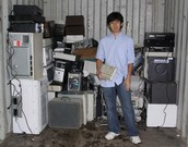 His way to e-waste