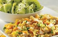 Star fruit chicken rice