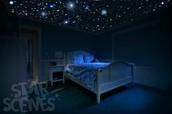 Handpainted Star Ceilings