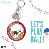 Officially Liscensed MLB Charms