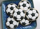 Futbol Cookies