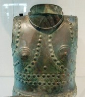 A copper armor