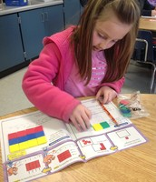 Breanna is using her math skills to solve the geometric problems!