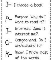 I PICK Reading Guide