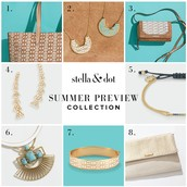Shop my Mystery Hostess show Online and Win $50 + in Free Stella & Dot!