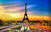 the Famous eifel tower