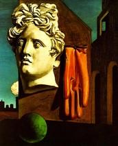Love Story by Giorgio de Chirico