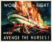 Nurse boat sinking