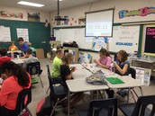 "6th graders in Pre-AP Social Studies have been competing in a simulation called ""Empires"""