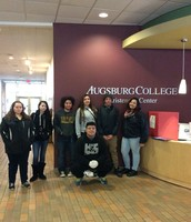 Last year's field trip to Augsburg College
