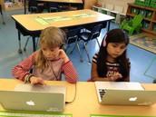 Siri and Isabella on Raz Kids!