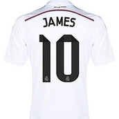 Adidas Ronald bale or james real madrid home jersey