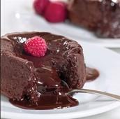 Molten Cocholate Lava Cake