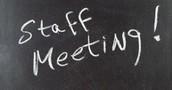 9.9.15 Staff Meeting